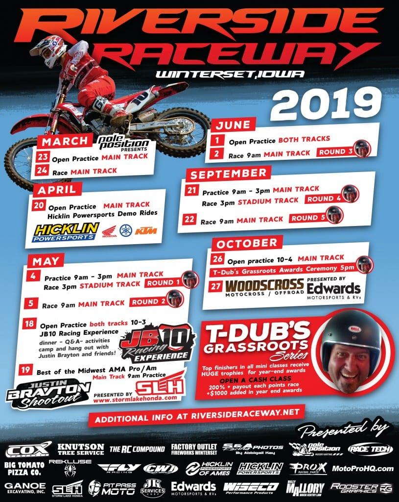Riverside Raceway Winterset 2019