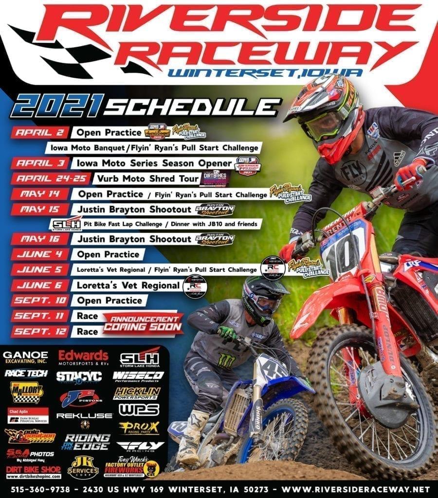 riverside raceway 2021 flyer